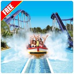 Roller Coaster Water Park Ride