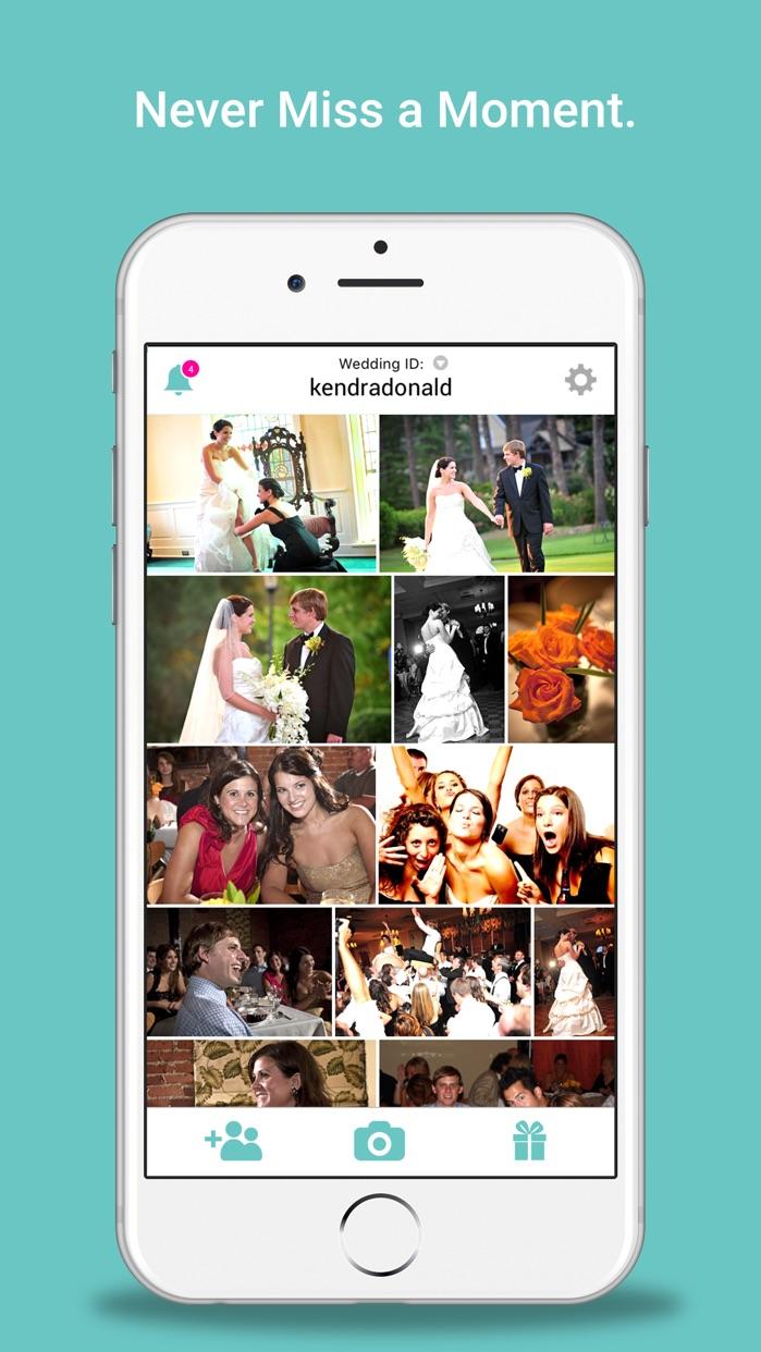 WedPics - Wedding Photo App Screenshot