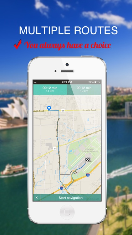 Corsica, Italy : Offline GPS Navigation