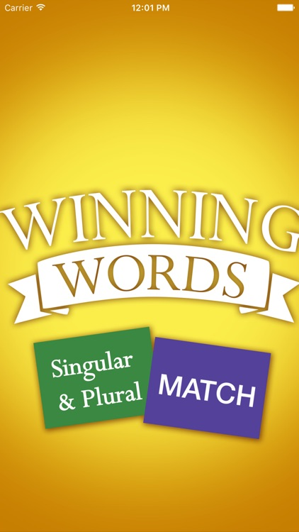 Singular and Plural Match screenshot-0