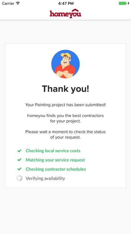homeyou: Hire local pros screenshot-3