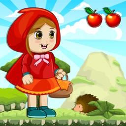 Little Red Riding Hood Run - Jump Girl Game