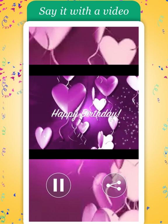 Happy Birthday Videos - Animated Video Greetings screenshot 6