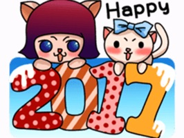 Happy New Year Stickers Vol3