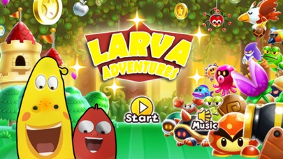 Larva Adventures screenshot one