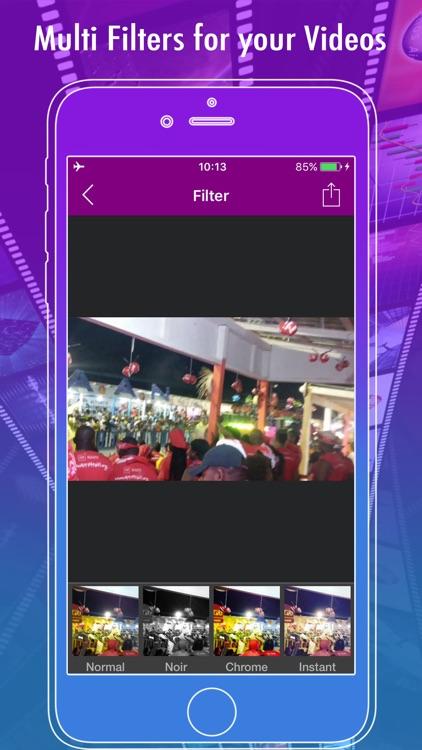 Recorder Music Video Editor & Clips Movie Maker screenshot-3