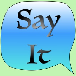 Say It - Free Text To Speech Voice Synthesiser