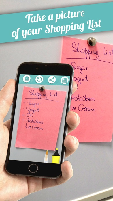 Grocery Lists – Make Shopping Simple and Smart screenshot one