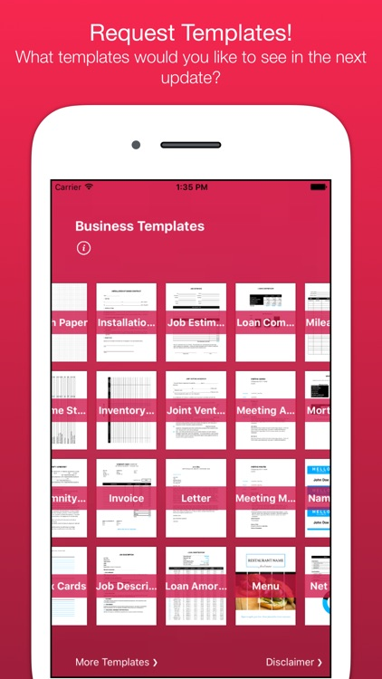 Business Templates for Pages screenshot-3
