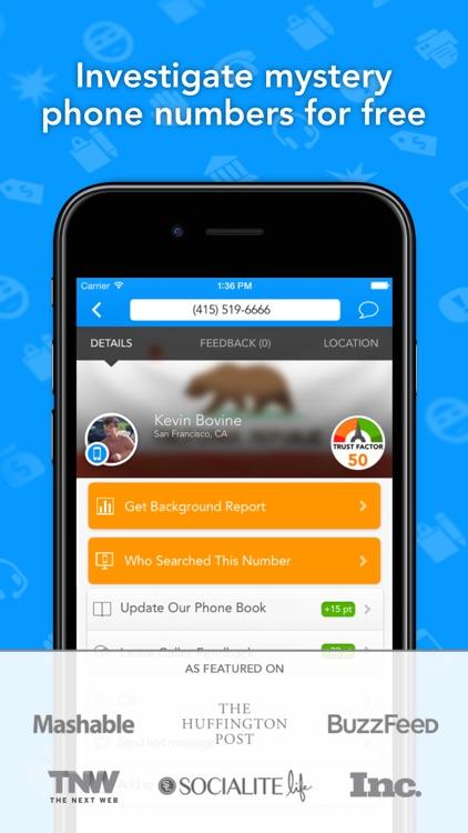 CallerSmart Reverse Lookup Phone Book + Caller ID screenshot-0