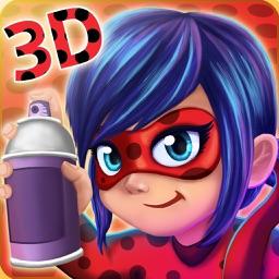 3D Ladybug Subway Miraculous Adventure