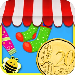My Store - EURO coins (€) learning game for kids