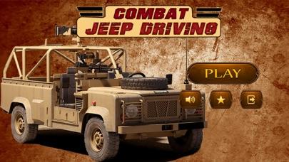 战斗吉普车驾驶模拟器 - 极限挑战 App 截图