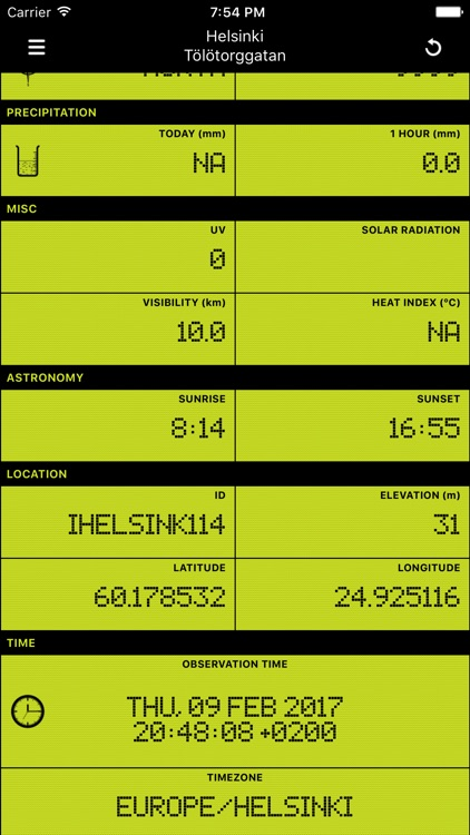 Weather Station .FI screenshot-1