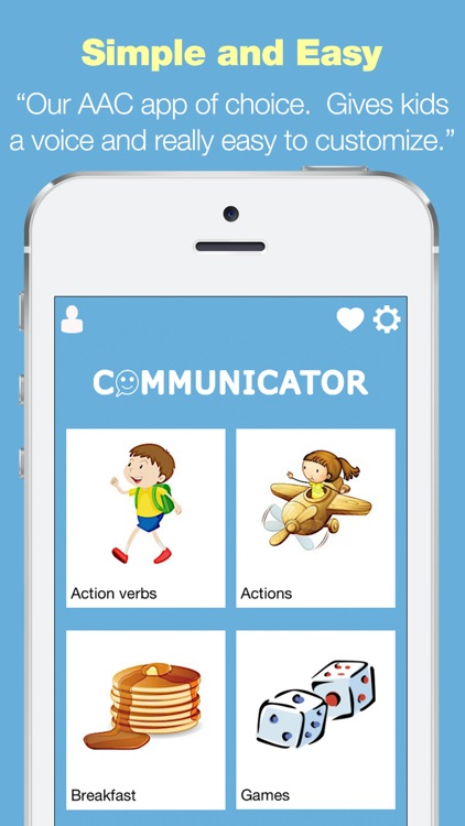 Board Communicator - AAC Speech Aid