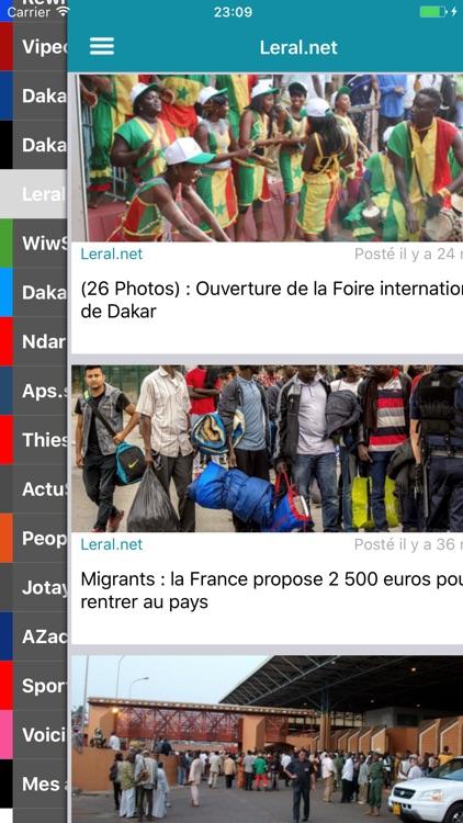 Actu Sénégal Premium sans Pub screenshot-3
