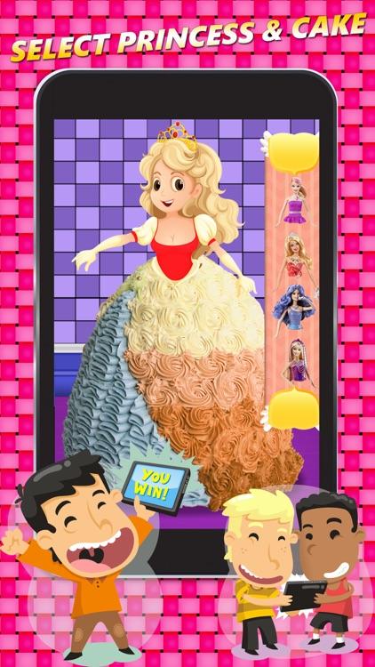 Princess Sweet Cake Maker Kids Cooking Game screenshot-3