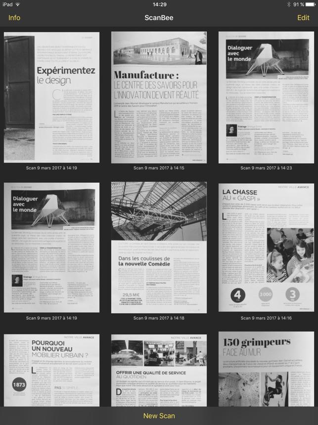 ScanBee - Scanner & copier Screenshot