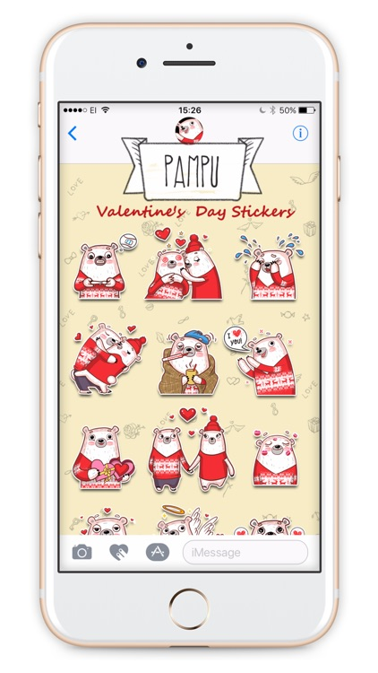 Pampu Love stickers screenshot-1