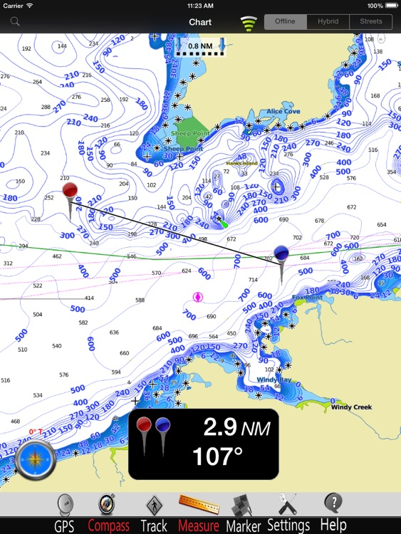 Alaska SW Nautical Charts Pro screenshot-3