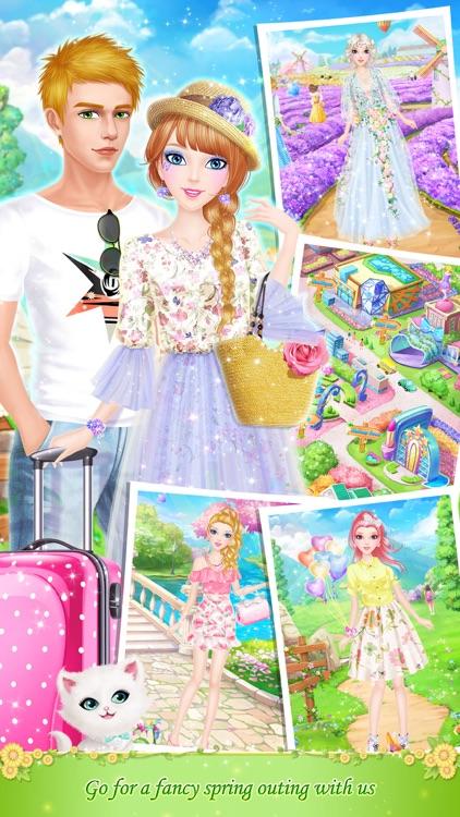 Tina's Diary: Spring Outing screenshot-3