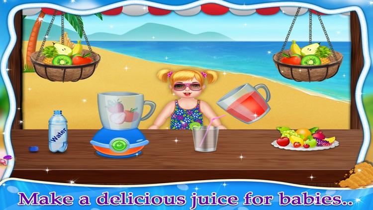 Kids Summer Holidays Beach Fun - Kids Game screenshot-3
