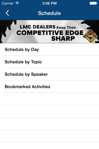 LMC Event App screenshot 4