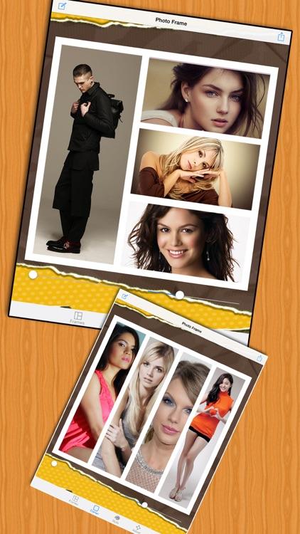 Insta Collage Photo Editor & Pic Frame screenshot-3