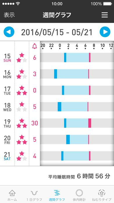 ねむり時間計アプリのおすすめ画像3