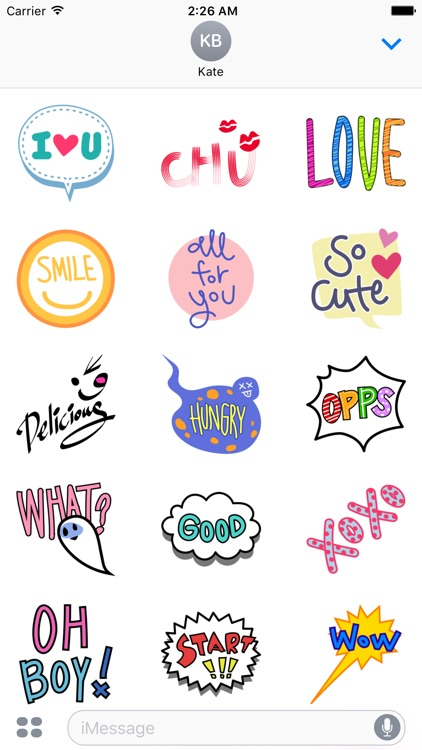Animated Lingo Stickers