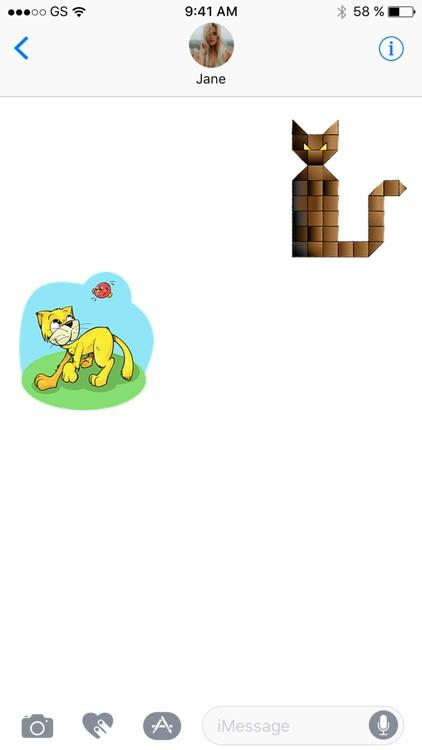 CatNow Sticker Pack!