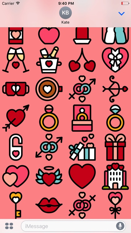 Valentine's Day Stickers - Love For Messages screenshot-3