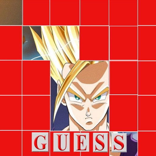 Guess Anime - Picture puzzle game with Popular Anime characters of all time for Dragon ball Z Edition
