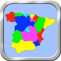 Spain Puzzle Map
