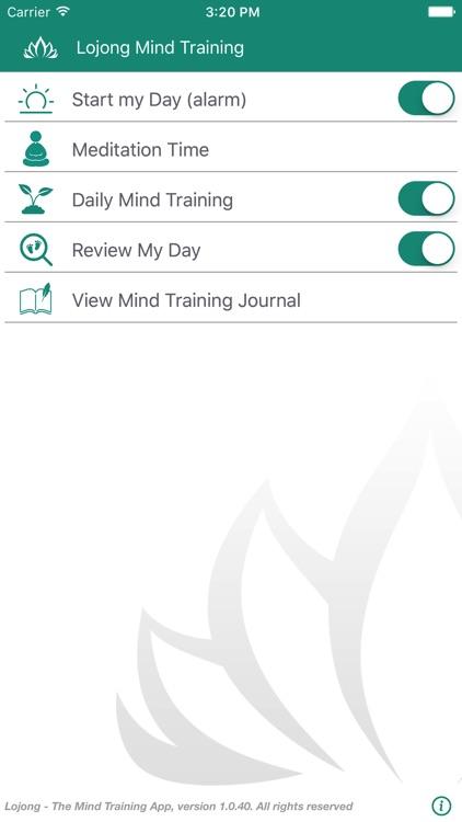 Lojong -The Mind Training App