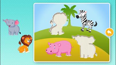 動物パズルゲームのおすすめ画像2