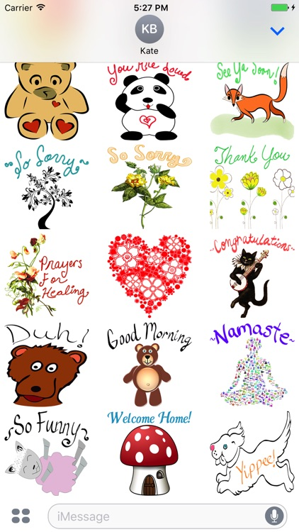 Positive Vibes Sticker Pack screenshot-3