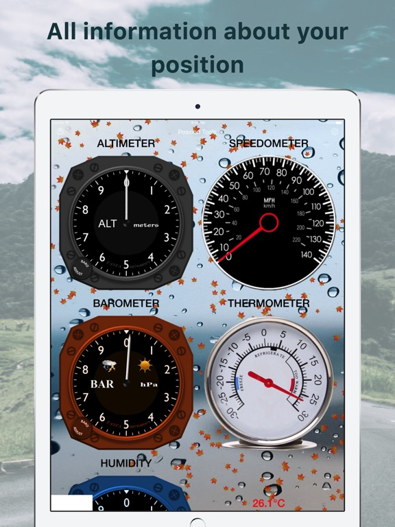 Position Weather Tools Screenshots