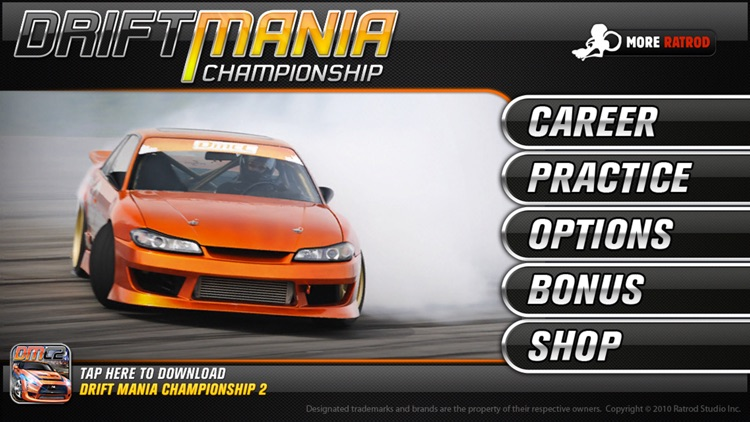 Drift Mania Championship Lite screenshot-1