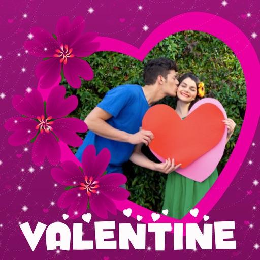 Valentine's Day Frames Photo Editor iOS App