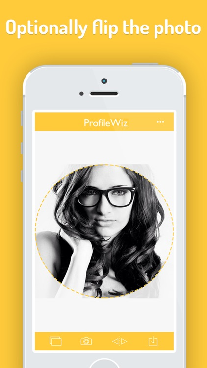 ProfileWiz Crop your Profile Picture to Perfection