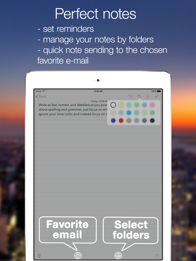 ‎Note-Ify Notes Screenshot