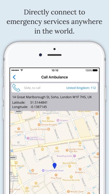 myEmerg - health & wellness, messenger screenshot-4