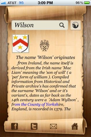 Origine e Significato del Cognome e Stemma