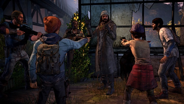 The Walking Dead: A New Frontier on the App Store