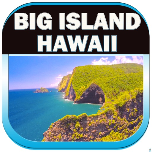 Big Island – Hawaii Offline Travel Map Guide