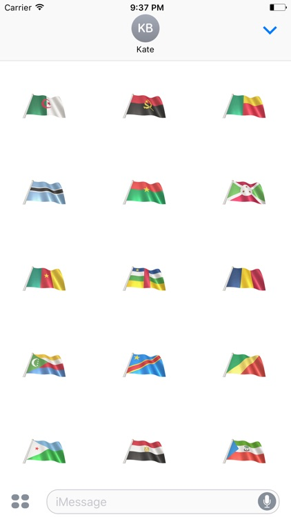 African Flags screenshot-0