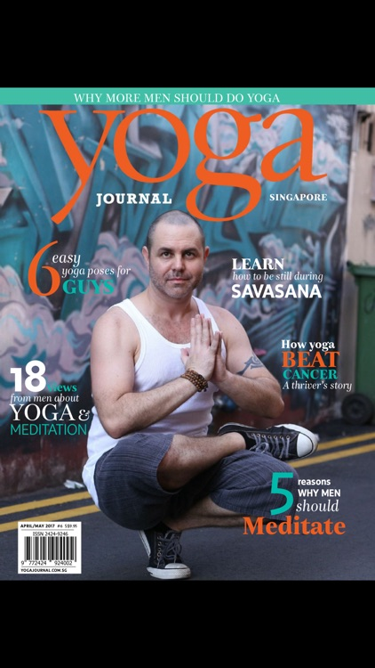 Yoga Journal Singapore Magazine