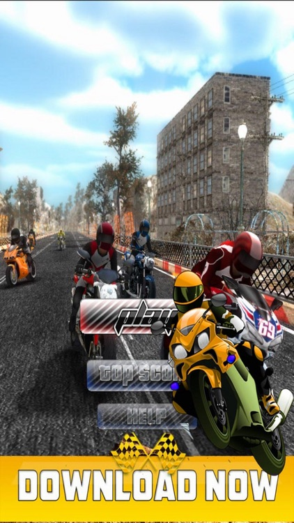 City Racing Motorcycle - Challenge Speed