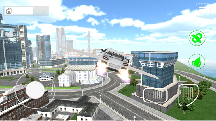 Fly-ing Sports Car Sim-ulator 3D screenshot-3